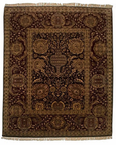 8' x10' Indian Agra Carpet