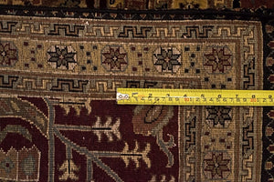 8' x10' Indian Agra Carpet  - Weaving