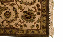 8' x 10' Silk Indian Agra Rug - Corner - 8130