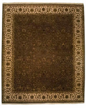 8' x 10' Silk Indian Agra Rug - 8130