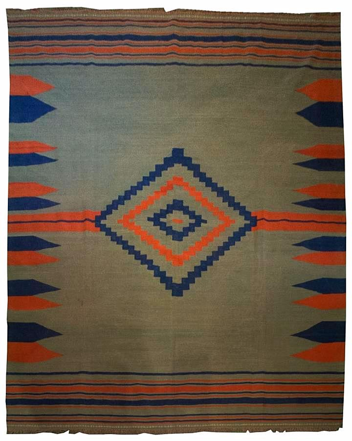 Hand Wooven Persian Flat Weave Kilim - Los Altos Rug Gallery - 8134