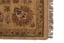 Handmade Indian Agra Rug - Los Altos Rug Gallery - 8135 - Corner