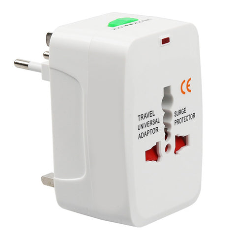 Universal Travel Socket Adapter USB Power Charger EU UK HKG US JPN AU/NZ