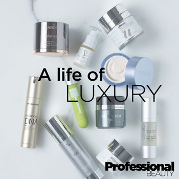 Ultraderm life of luxury as seen in Professional Beauty magazine