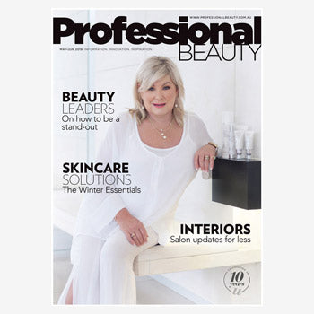 Ultraderm as seen in Professional Beauty magazine