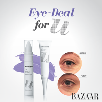 Ultraderm Eye Deal as seen in Harper's BAZAAR