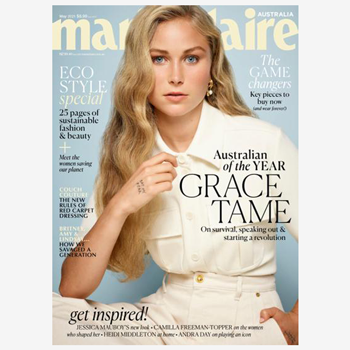 Ultraderm's Eye Renew Treatment featured in Marie Claire May 2021