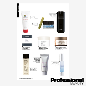 Ultraderm Micellar Cleanser as featured in Professional Beauty magazine