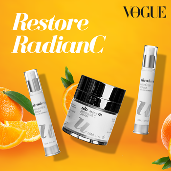 Ultraderm RadianC as seen in Vogue