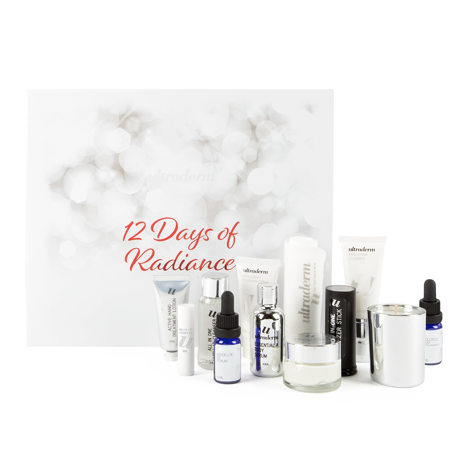 Ultraderm 12 Days of Radiance. The ultimate Australian skincare advent calendar 2019