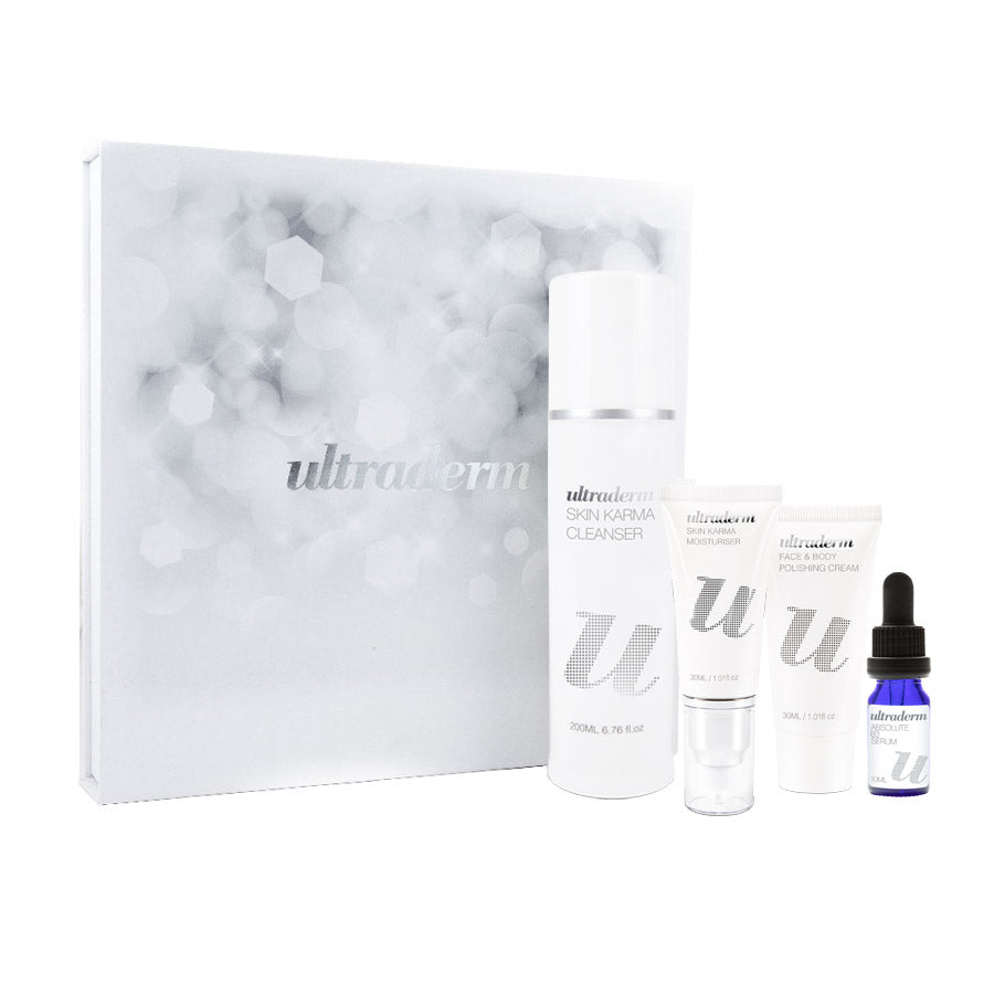 Ultraderm Skin Karma Christmas Kit for normal, dry, sensitive skins