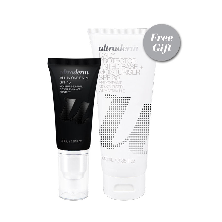 Ultraderm Sun Savvy Promotion, buy all in one balm and get Daily Protector SPF 30 FREE