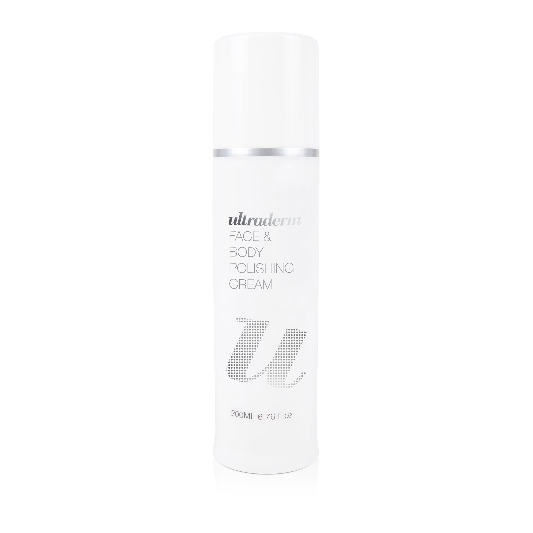 Ultraderm Face & Body Polishing Cream, Glycolic AHA Exfoliating Face Scrub