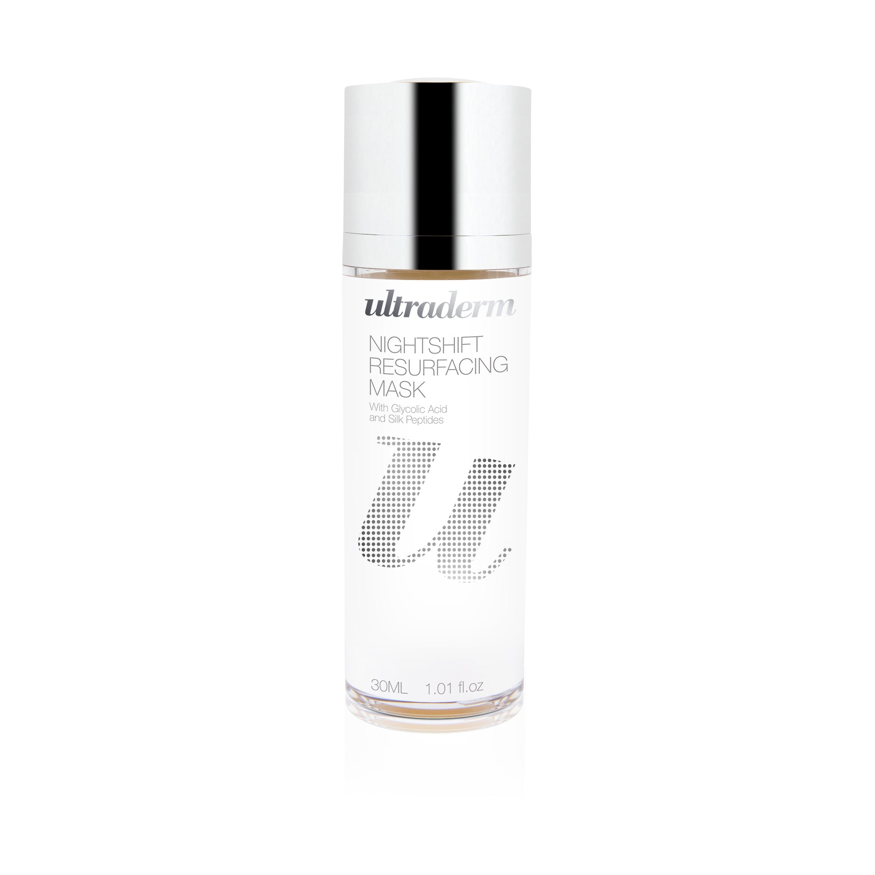 Ultraderm Nightshift Resurfacing Mask, Glycolic AHA Overnight Resurfacing Sleep Mask