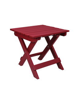 Sona Outdoor Table (Red)