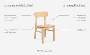 Clift Dining Chair (Pinus)
