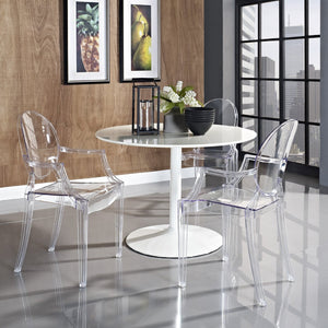 Louis Ghost Chair Replica - White