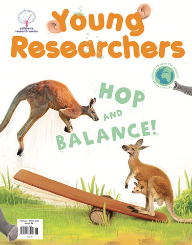 Issue 34 - Hop and Balance!