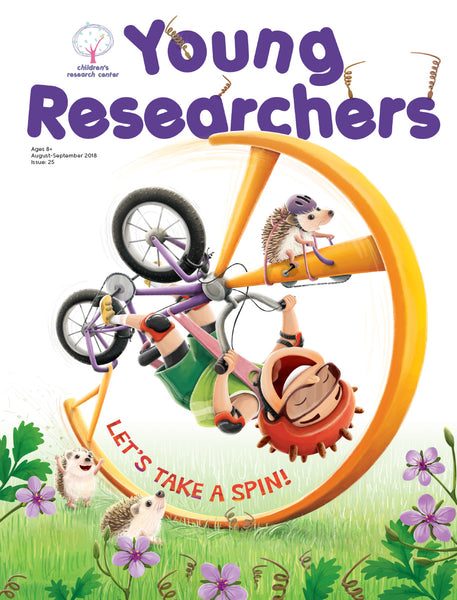 Issue 25 - Let's Take a Spin!