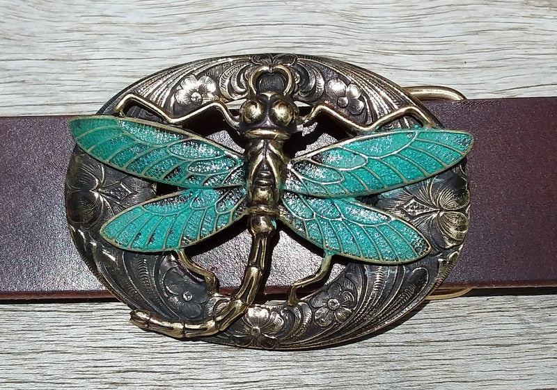 Dragonfly Buckle - Sur Tan Mfg. Co.
