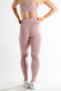 Sparta Evo Seamless Leggings - Pastel Pink - Sparta Gym Wear