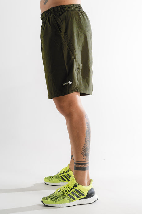 Sparta Woven Shorts - Khaki - Sparta Gym Wear