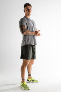 Sparta Training T-shirt - Grey Marl/White - Sparta Gym Wear