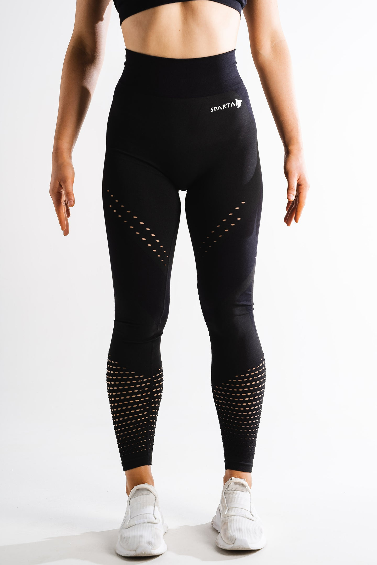Sparta Laconic Seamless Leggings - Black - Sparta Gym Wear