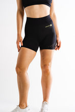 Sparta Laconic Seamless Shorts - Black/Yellow Volt - Sparta Gym Wear