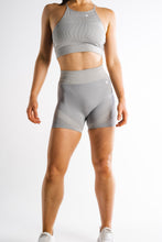 Sparta Laconic Seamless Shorts - Charcoal Grey - Sparta Gym Wear