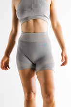 Sparta Laconic Seamless Shorts - Charcoal Grey/Blue Volt - Sparta Gym Wear