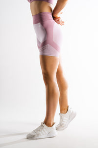 Sparta Laconic Seamless Shorts - Shadow Rose - Sparta Gym Wear