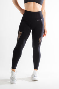 Sparta Evo Seamless Leggings - Black - Sparta Gym Wear