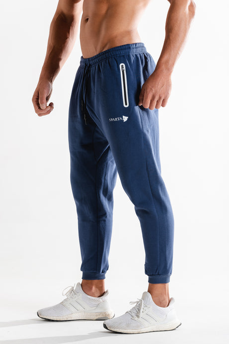 Sparta Technical Fleece Jogger- Navy - Sparta GymWear