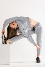 Sparta Technical Oversized Fleece Jumper - Light Grey - Sparta Gym Wear