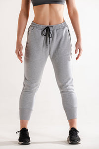 Sparta Technical Fleece 7/8 Jogger- Light Grey - Sparta Gym Wear