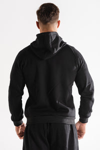 Sparta Technical Fleece Jacket - Black - Sparta Gym Wear
