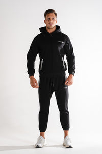 Sparta Technical Fleece Jacket - Black - Sparta GymWear