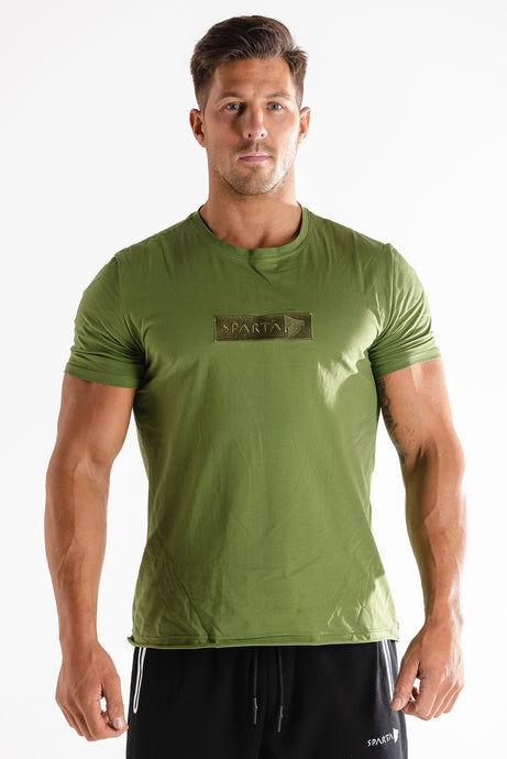 Sparta Raw T-shirt - Green