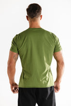 Sparta Raw Tee - Green - Sparta Gym Wear