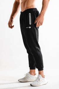 Sparta Technical Fleece Jogger - Black - Sparta GymWear