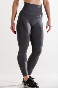Sparta Ultra Seamless Leggings - Storm Grey - Sparta Gym Wear