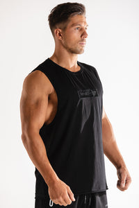 Sparta Raw Sleeveless - Black