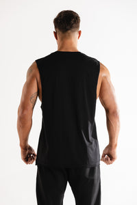 Sparta Raw Sleeveless - Black - Sparta Gym Wear