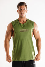 Sparta Raw Sleeveless - Green - Sparta Gym Wear
