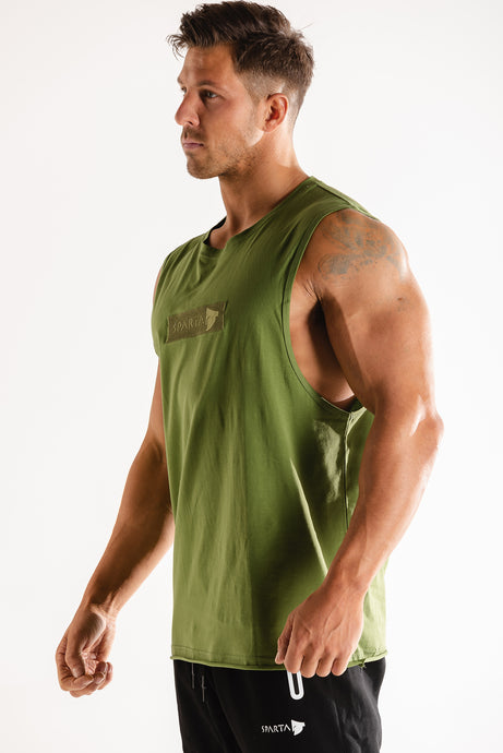 Sparta Raw Sleeveless - Green