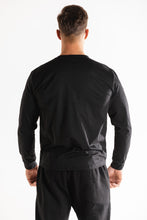 Sparta Fit Long Sleeve Top - Black - Sparta Gym Wear