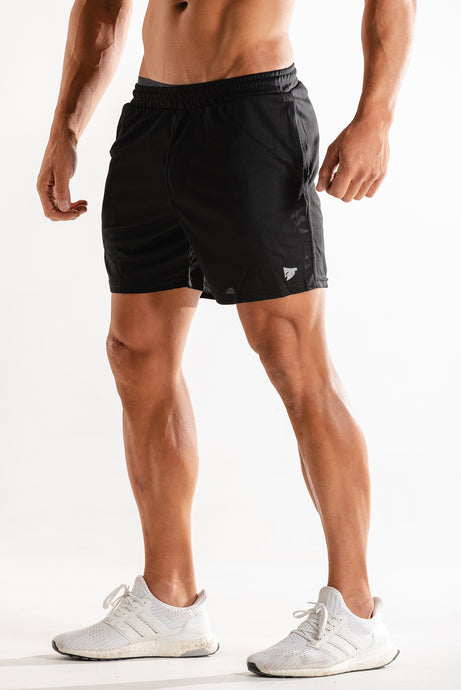 Sparta Fit Mesh Shorts - Black - Sparta Gym Wear