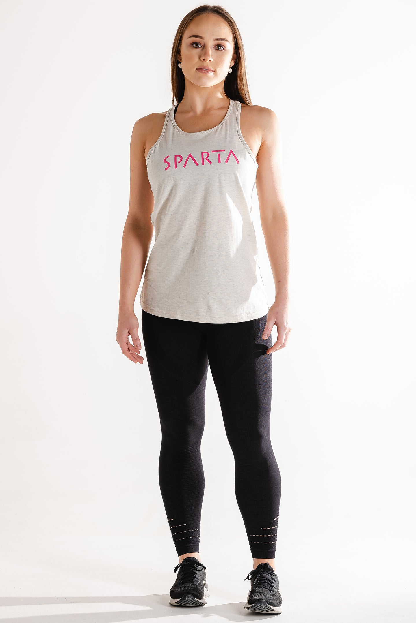 Sparta Training Tank - Beige - Sparta Gym Wear
