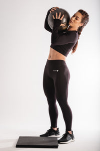 Sparta Ultra-Thermic Leggings - Black - Sparta Gym Wear